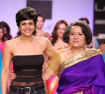 Mandira designs saris for women who rule the world