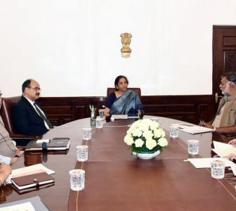 Sitharaman takes stock of covid-19 impact on economy