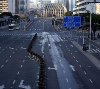 Ghost streets of China post coronavirus outbreak