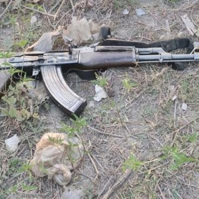 UP Gangster With Rs 1 Lakh Bounty Killed AK 47 Recovered