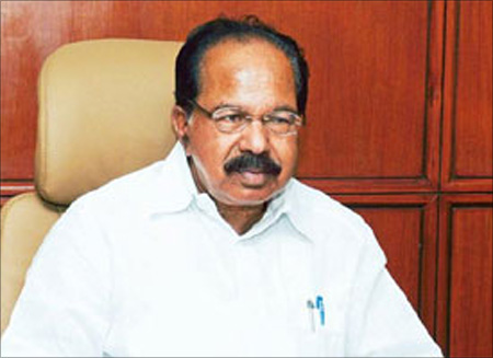 Power Minister Veerappa Moily.
