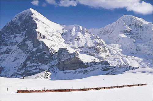 Jungfrau Railway.