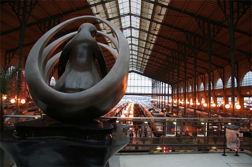 Gare du Nord.