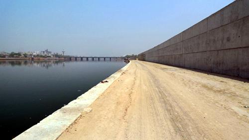 Sabarmathi Riverfront Development Project.