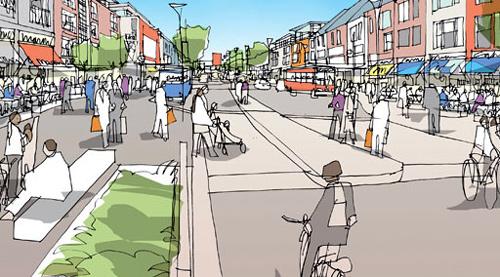 Scotswood Urban Regeneration.