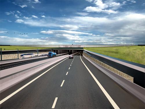 Fehmarnbelt Tunnel.