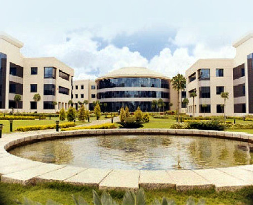 Education and research block.