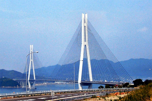 Tatara Bridge.