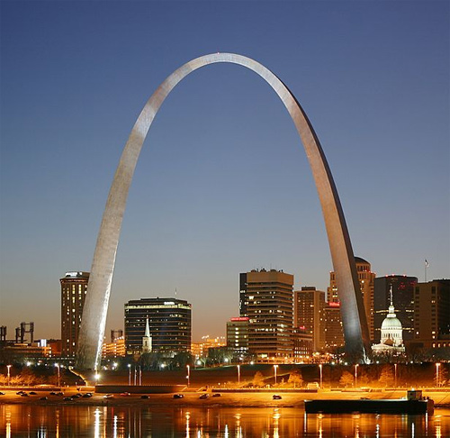 Gateway Arch.