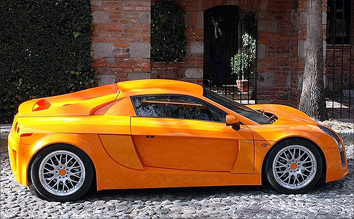 Mastretta Mexican Sport Car.