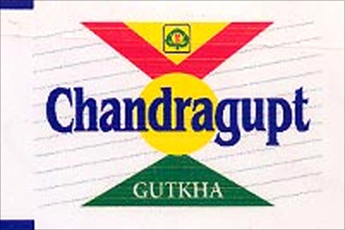 Gutkha packet.