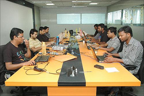 OrangeScape employees.