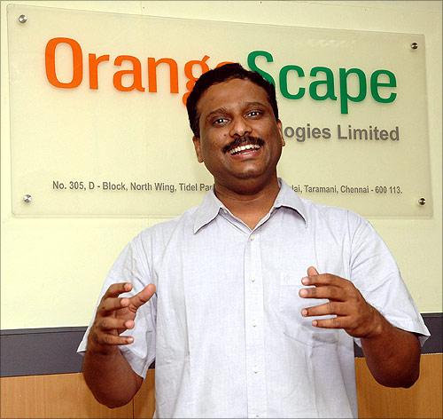 Suresh Sambandam, CEO, OrangeScape.