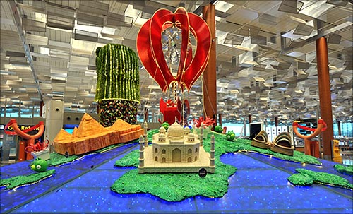 Changi Airport's Terminal 1 gets a stunning makeover