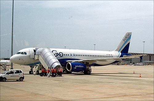 IndiGo Aircraft.