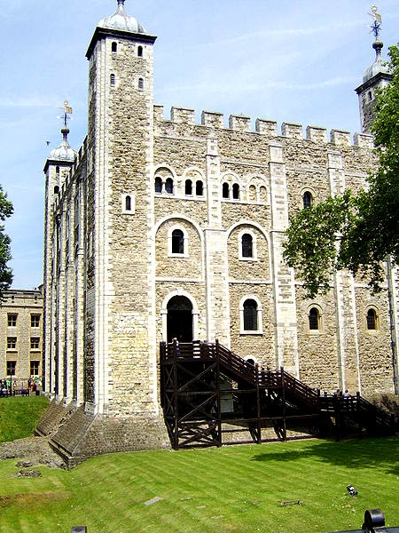 White Tower, Tower of London, England.