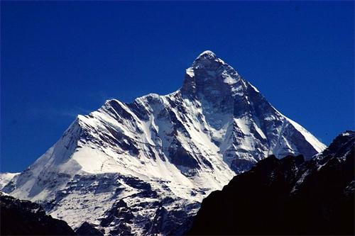 Mt Nanda Devi.