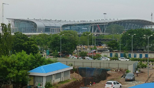 Annadurai International Airport.