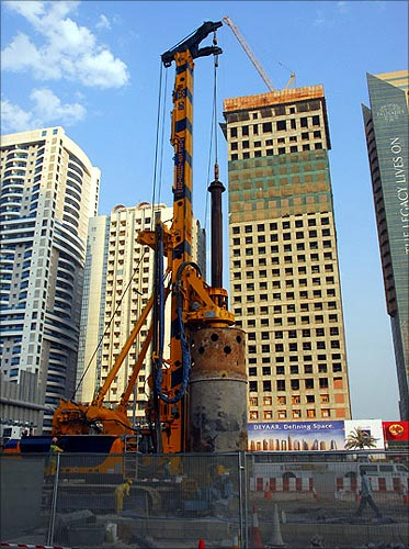How the Dubai Metro was built