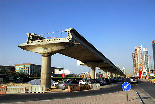 How the Dubai Metro was built