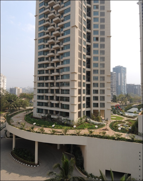 Oberoi Realty project in Goregaon.