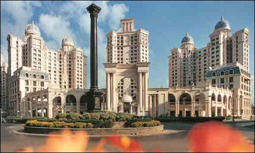 Hiranandani project at Powai.