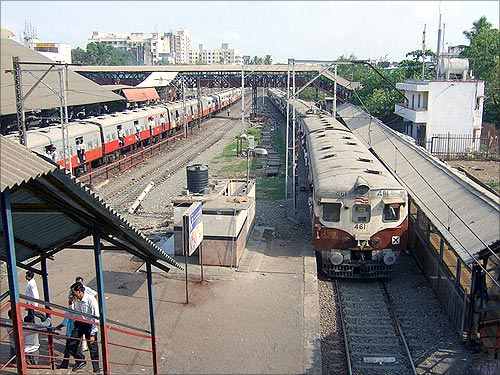 Bandra Railway Station.