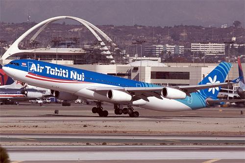 Air Tahiti Nui A340-300.