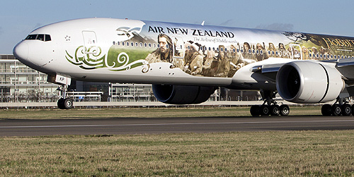 Air New Zealand.