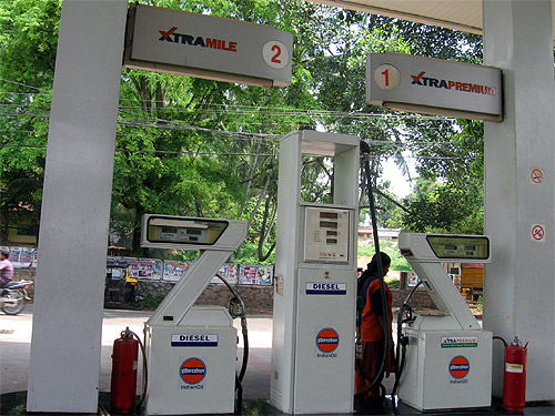 Indian Oil petrol pump