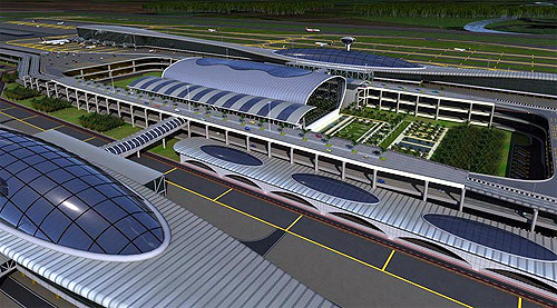 Design of the Navi Mumbai International Airport.