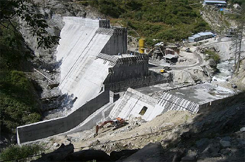 Malana - 100MW Run-of-The-River Hydro Power Plant.
