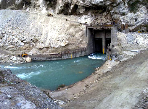 Teesta - 1200MW Run-of-The-River Hydro Power Plant.