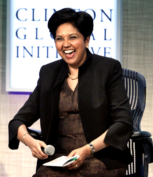 Indra Nooyi, chairman and CEO of PepsiCo.