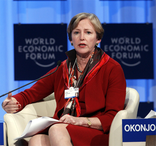 Ellen Kullman, Chair of the Board and CEO of DuPont.
