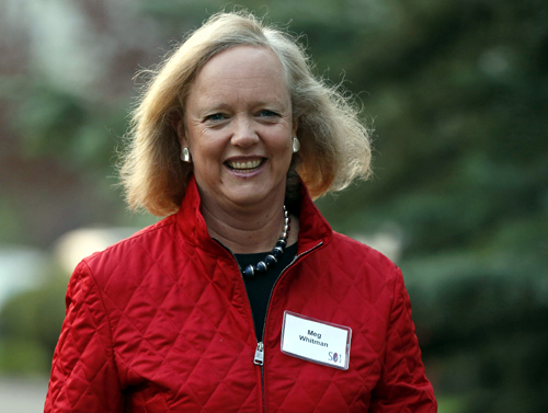 Hewlett Packard CEO and President Meg Whitman attends the Allen & Co Media Conference in Sun Valley, Idaho.