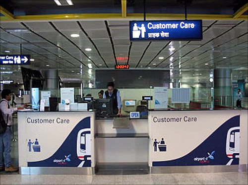 Metro's customer care centre.