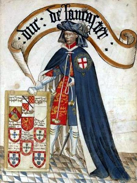 Henry Duke of Lancaster.
