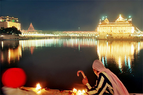 Diwali at Golden Temple, Amritsar.