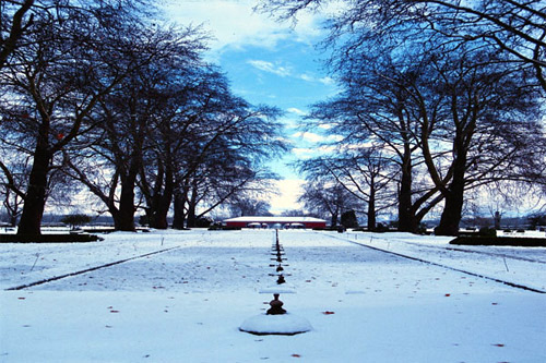 Shalimar garden in Winter.