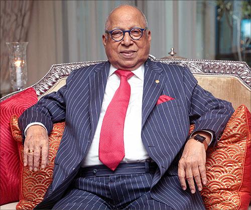 Captain C P Krishnan Nair.