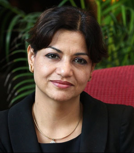 Harshbeena Zaveri.