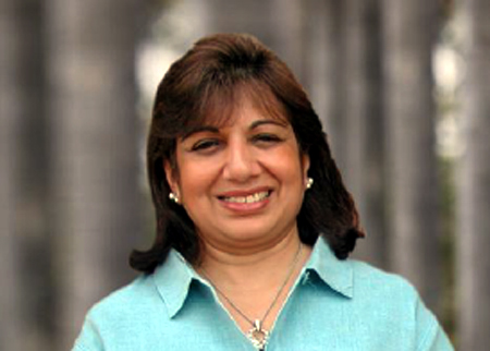 Kiran Mazumdar-Shaw.