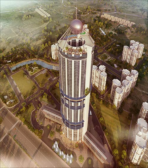 North eye building planned in Noida.