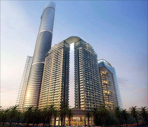 Supernova building planned in Noida.