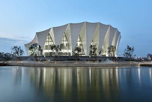 Hanghai Oriental Sports Center.