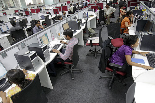 Indian IT companies hungry for acquisitions