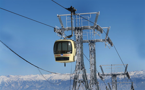 Gondola Chair Car Gulmarg.