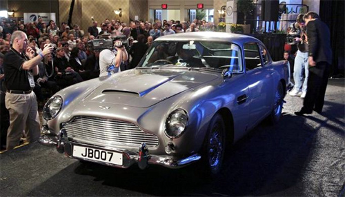 The stunning James Bond cars