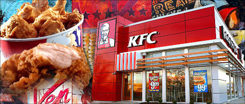 Worms in served chicken could batter KFC brand